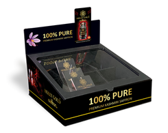Countertop Product Display With Transparent Lid