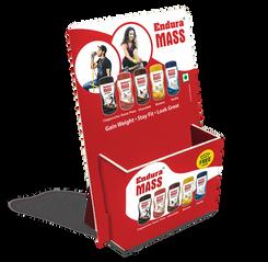 Foldable & Flat Shipped Brochure Holder