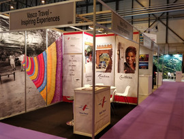 Vasco Travel Booth