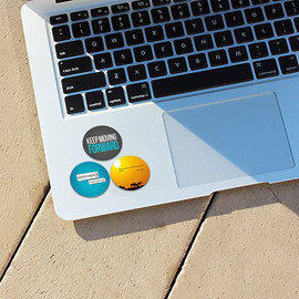 Customized Printed Laptop Sticker