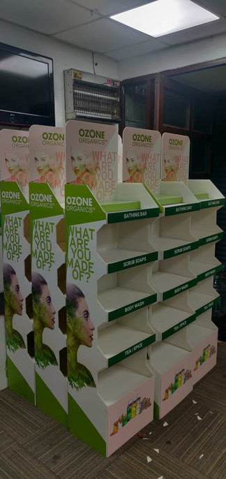 Floor standing units for Ozone Pharma exported to Canada