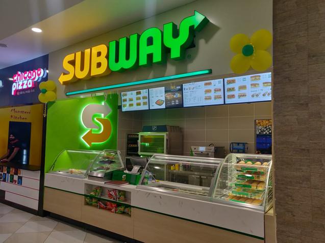 Subway LED Signage