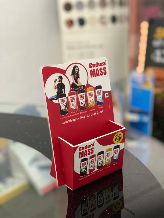 Endura Mass Counter Topper Brochure Holder Unit
