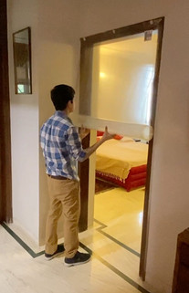 COVID Room Installation
