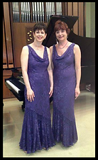 The Kaplan Duo performs Jane Leslie's music