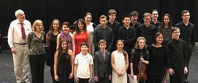 Jane Leslie hosts annual student concert