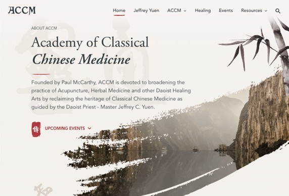 Home Page for ACCM