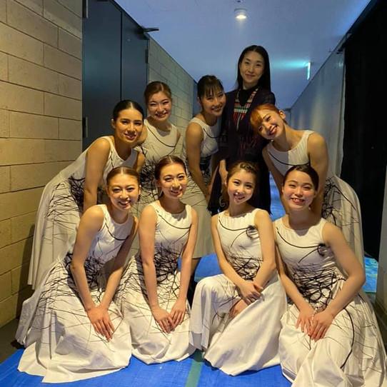 神戸女学院大学で3年間バレエを教えた生徒達のパフォーマンス。
