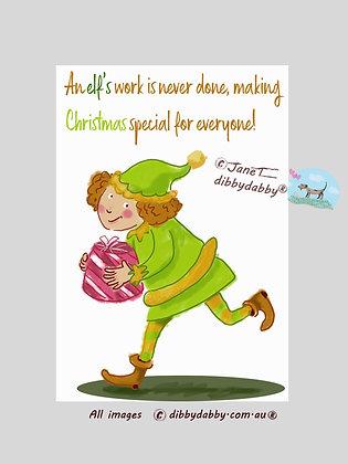Busy Elf