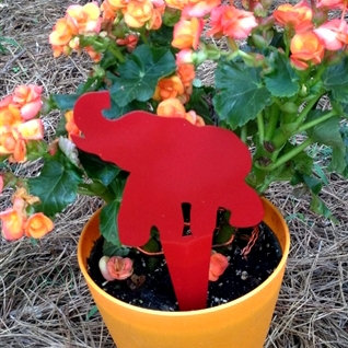 Elephant Yard Art