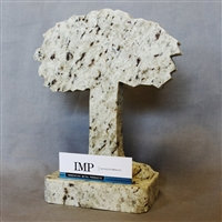 Oak Tree Display Business Card Holder