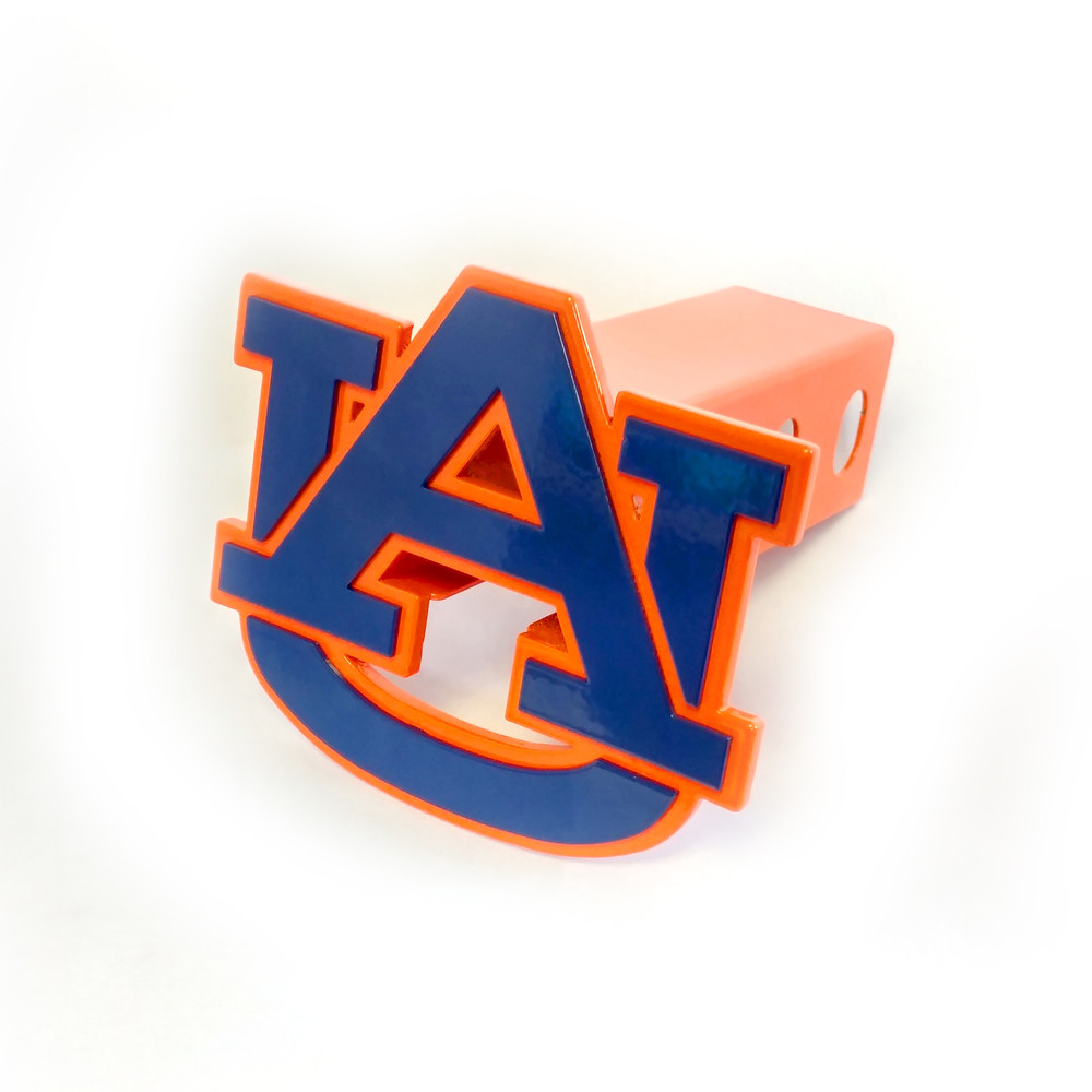 New Auburn Tigers Trailer Hitch Cover