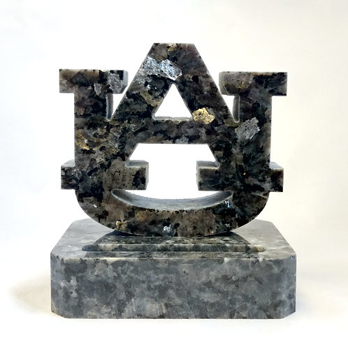 Auburn Tigers Granite Business Card Holder