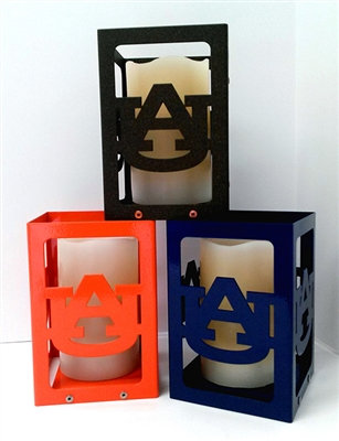 Auburn Tigers Candle Box