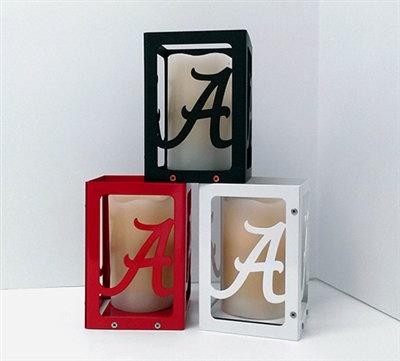 Alabama Crimson Tide Candle Box