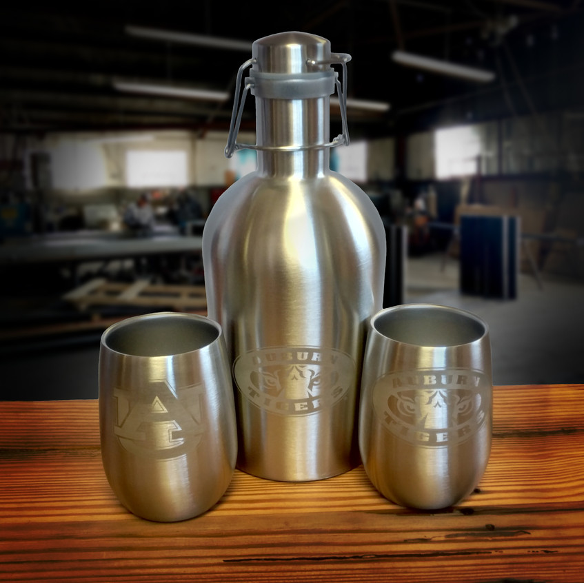 AUB Growler and Cups