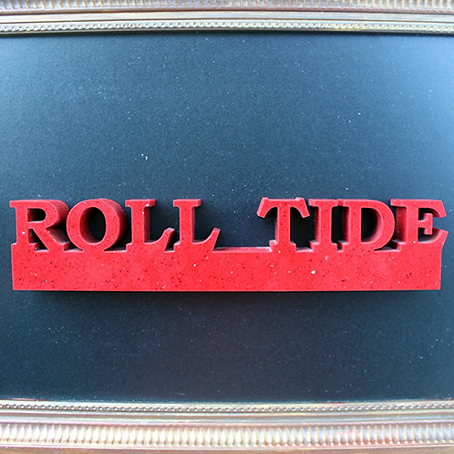 Alabama Crimson Tide Roll Tide Display
