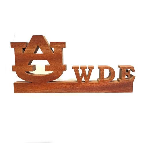 Auburn Tigers WDE Wood Display