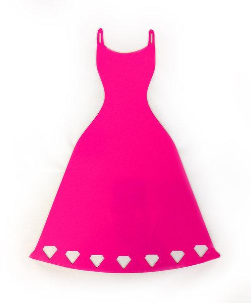 Pink Dress Wall Hanger