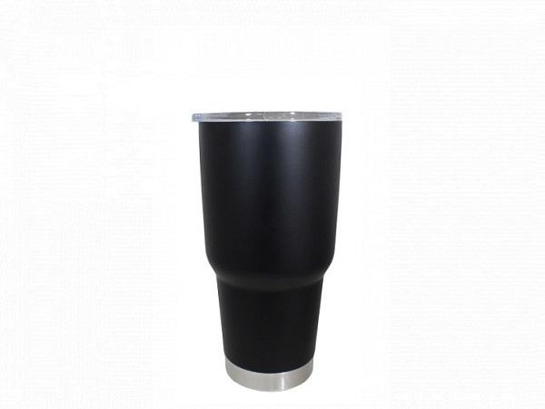 Matte Black Powder Coat - 30 oz