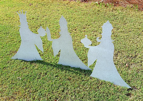 Three Wise Men Christmas Yard Art