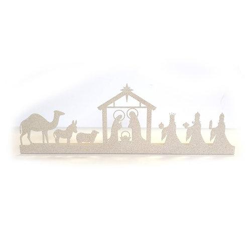 Mantle/Table Top Nativity Scene