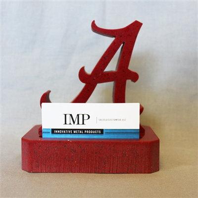Alabama Crimson Tide Granite Business Card Holder