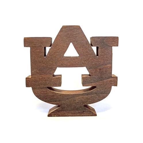 Auburn Tigers Wood Display
