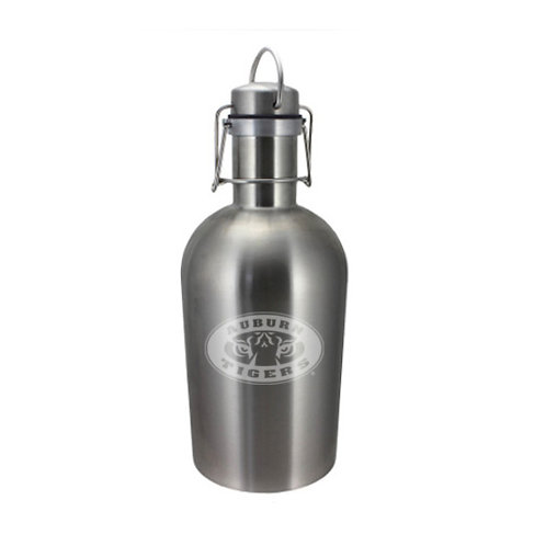 Auburn Tiger Eyes 64 oz. Stainless Steel Growler