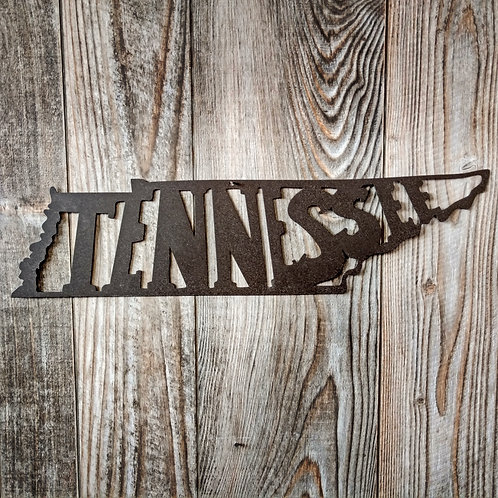 State of Tennessee Wall Hanger
