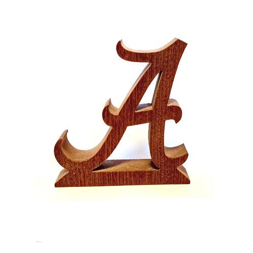 Alabama Crimson Tide Wood Display