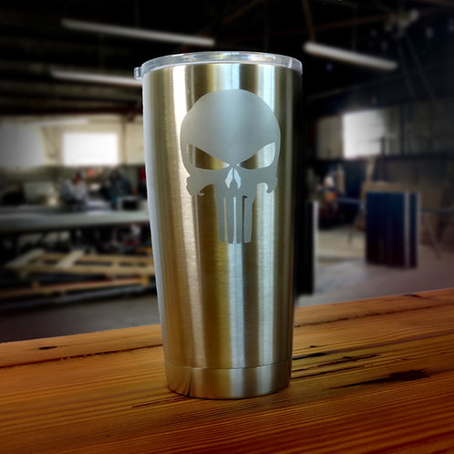 Skull 20 oz. Stainless Steel Tumbler