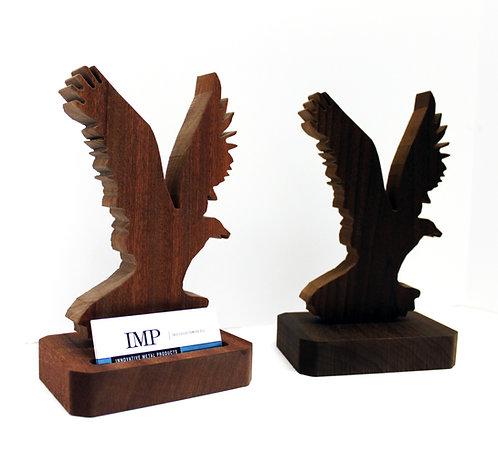 Eagle Display Business Card Holder
