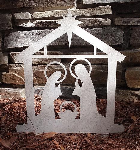 Nativity Yard Art