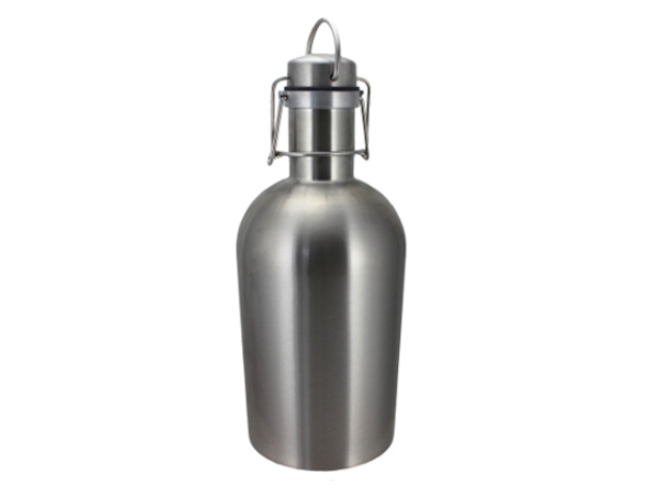 Brushed Stainless - 64 oz Growler
