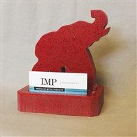 Elephant Display Business Card Holder