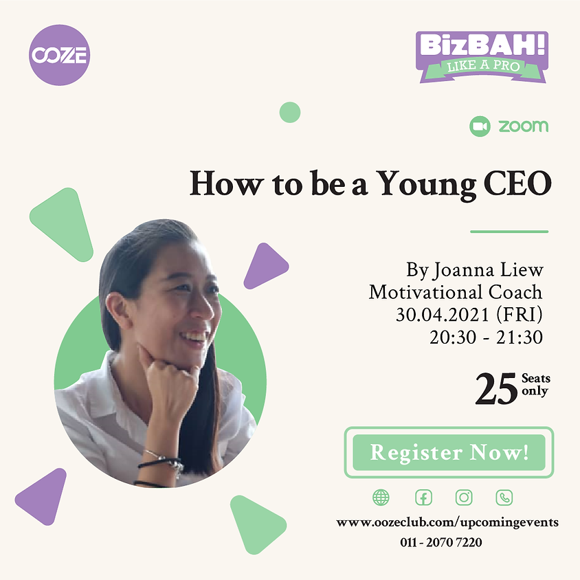 HOW TO BE A YOUNG CEO - JOANNA LIEW