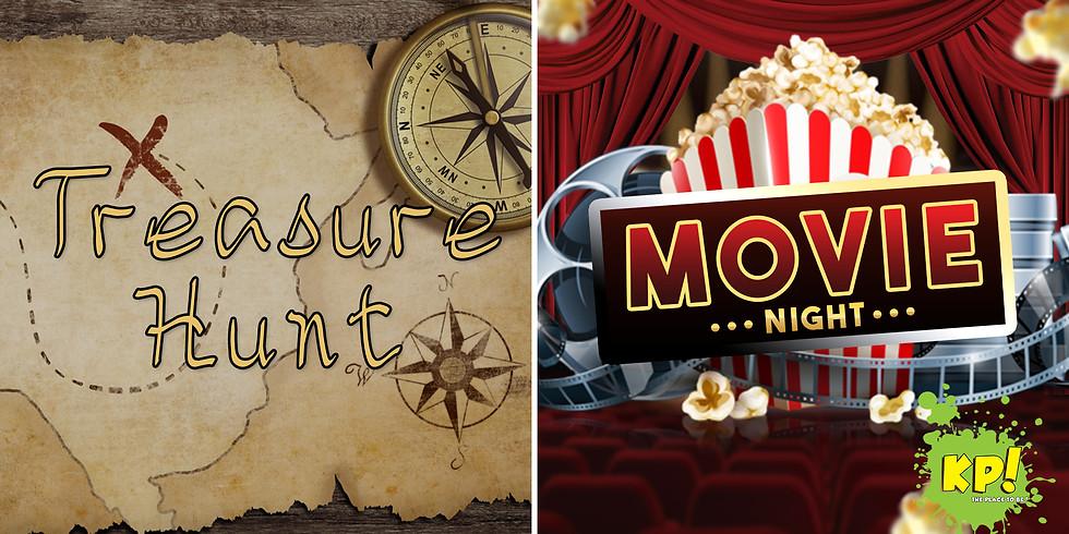 KP! Treasure Hunt & Movie Night
