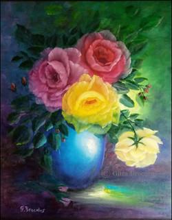 Kleurrijk boeket