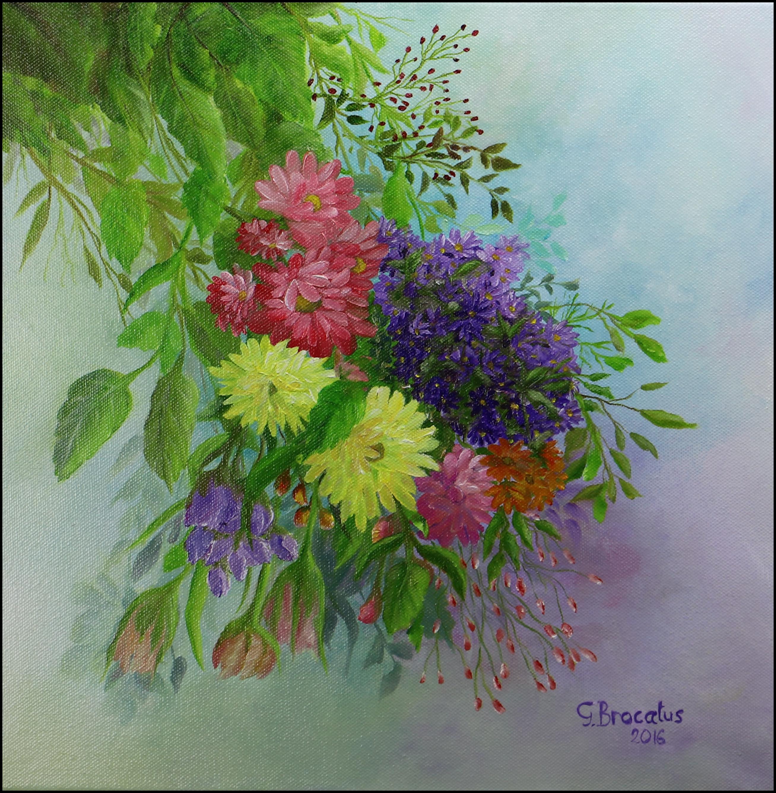 Overal bloemen