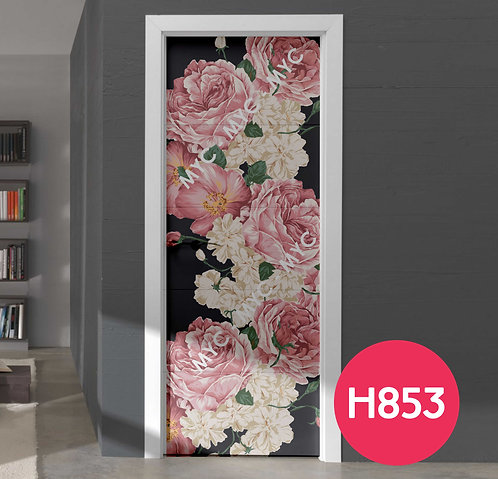 Vinilos Decorativos Para Puertas Flores