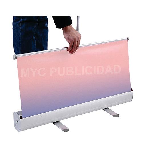 Roll Up Banners Publicitarios De 200 X 80 Cm Con Impresión