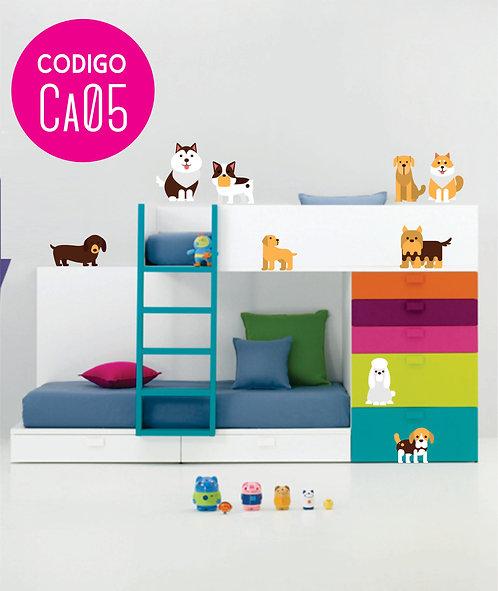 Vinilos Decorativos Infantiles PERRITOS