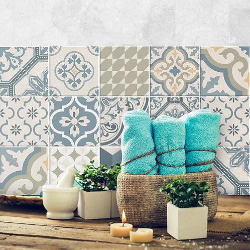Vinilos Para Azulejos, Autoadhesivos De Mosaicos x9u codigo 302