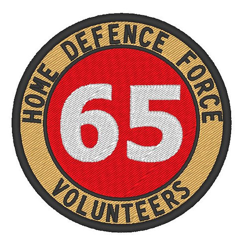 HOME DEFENCE FORCE VOLUNTEERS PATCH TYV O SQUADRON