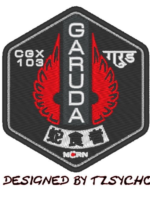 THE EXPANSE - M.C.R.N GARUDA EMBROIDERED SHIP PATCH