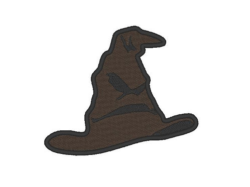 EMBROIDERED PATCH - HARRY POTTER SORTING HAT