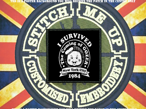 GHOSTBUSTERS PATCH - I SURVIVED