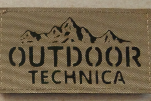 PRECISION CUT OUTDOOR TECHNICA PATCH