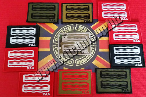 OFFICIAL PATCH OF THE FAT AIRSOFTERS ASSOCIATION